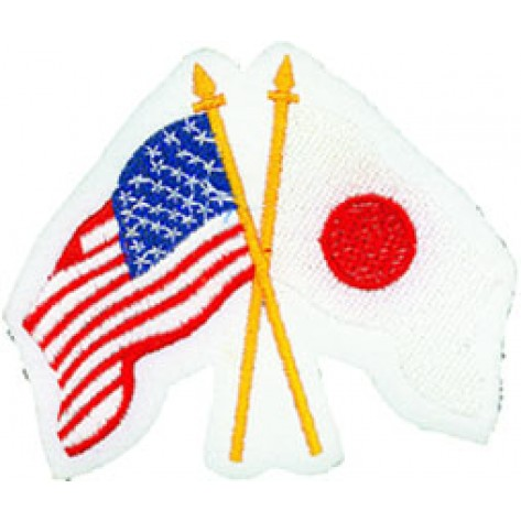 Usa/Japan Flags Patch