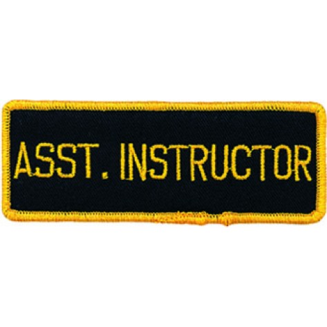 Asst. Instructor Patch