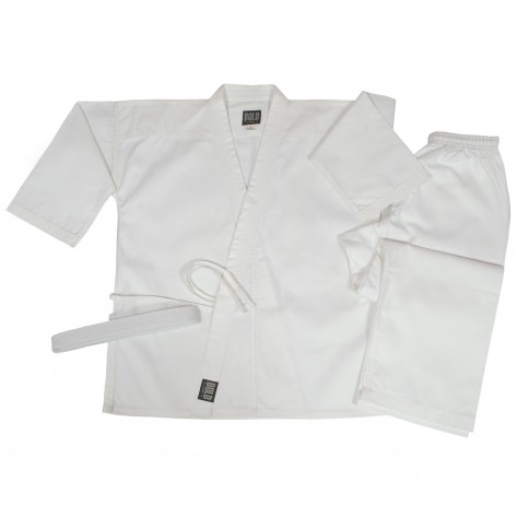 White Supper Middleweight Traditional Sets