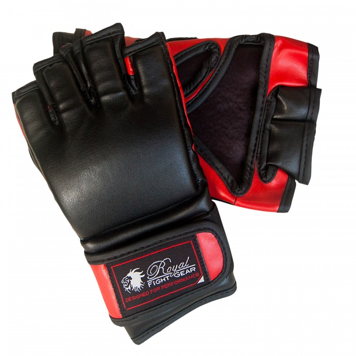 b9224962d1465 RFG THUMBLESS MMA ARTIFICIAL LEATHER GLOVES