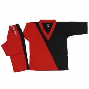 Style 130 Red/Black V-Neck Team Sets