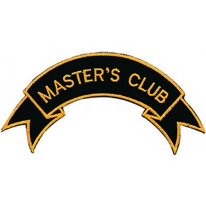 Master'S Club Patch