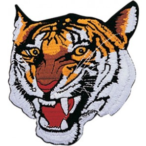 Tiger Face Patch