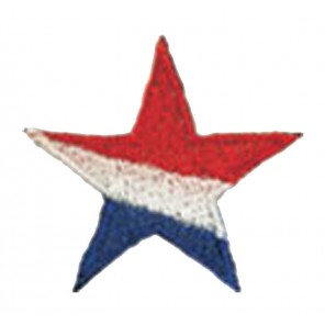 Red/White/Blue Star Patch