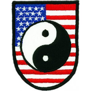 Usa Flag Tai Chi Patch