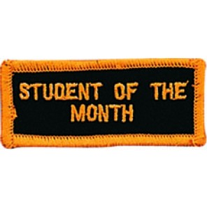 Student Of The Month Patch