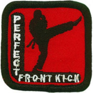Perfect Front Kick Patch