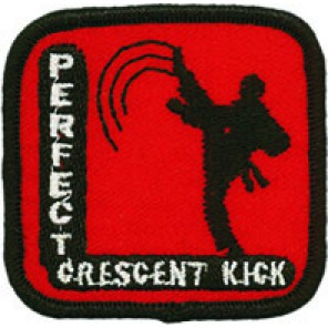 Perfect Crescent Kick Patch
