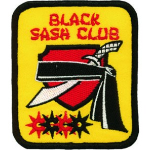Black Sash Club Patch
