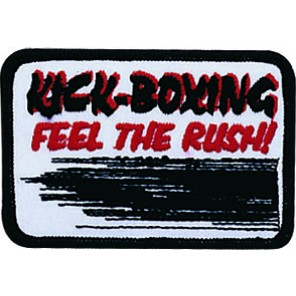Kick-Boxing Feel The Rush Patch