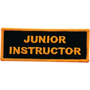 Junior Instructor Patch