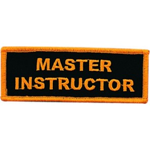 Master Instructor Patch