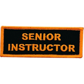 Senior Instructor Patch
