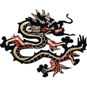 Black/Red Dragon Patch