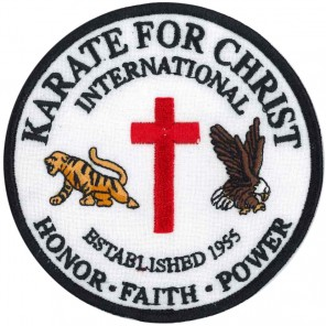 Karate For Christ Patch