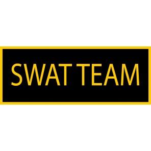 Swat Team Patch