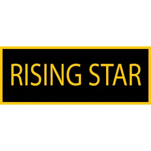 Rising Star Patch