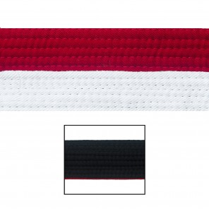 "2"" White/Red/Black Deluxe Renshi"