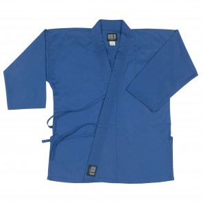 Blue Heavyweight Traditional Tops