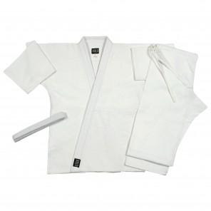 White Single Weave Jiu Jitsu Set