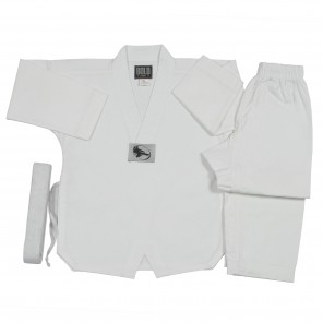 White Ultra Lightweight TKD Set
