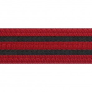 BELTS WITH DOUBLE BLACK STRIPES