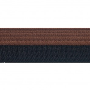 HALF BROWN WITH HALF COLOR BELTS