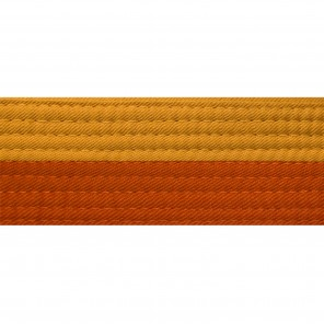 Half Gold Belts With Half Orange