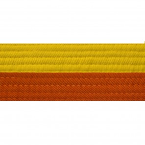 HALF YELLOW WITH HALF COLOR BELTS