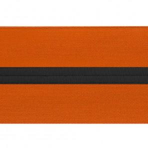 Orange Sash With Black Stripe