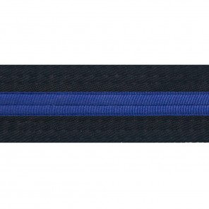 Black Belts With Blue Stripe