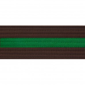 BROWN BELTS WITH STRIPE