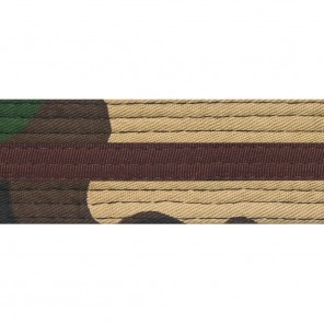 GREEN CAMO BELTS WITH STRIPE