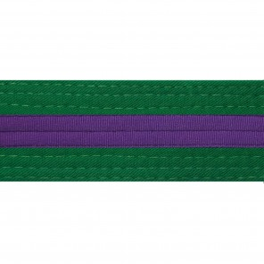 GREEN BELTS WITH STRIPE