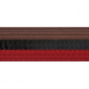 HALF/HALF BELTS WITH STRIPE