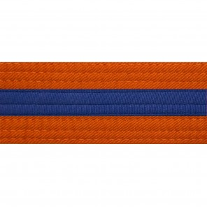 ORANGE BELTS WITH STRIPE