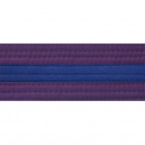 PURPLE BELTS WITH STRIPE