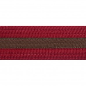 RED BELTS WITH STRIPE