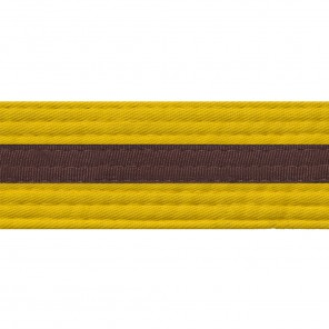 YELLOW BELTS WITH STRIPE
