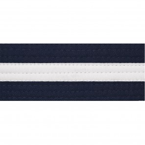 SPECIAL COLOR BELTS WITH WHITE STRIPE
